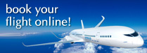 book your flight online!